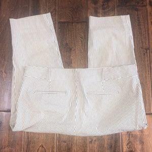 Ann Taylor cropped pants 12 petite